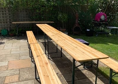 beer table hire