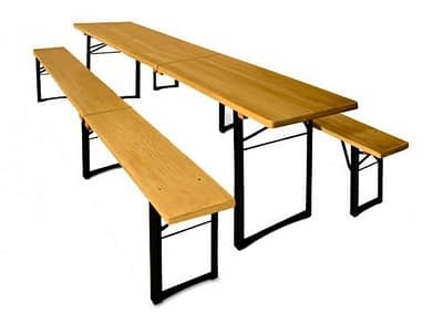 rent pub beer table bench hire Sussex