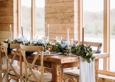 rustic chair hire Surrey