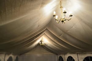 chandelier hire marquee London