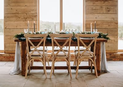 rustic chair hire sussex