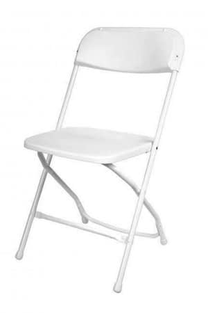 rent white folding chair hire Kent