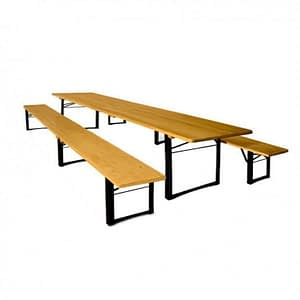beer table bench hire sussex