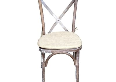 cross back chair hire Hampshire