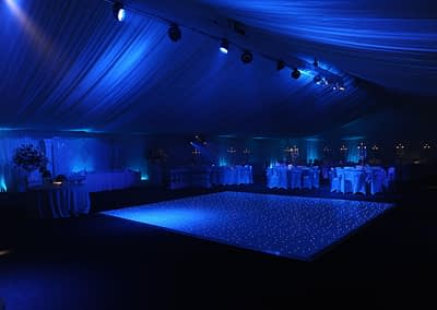 white led dance floor hire London