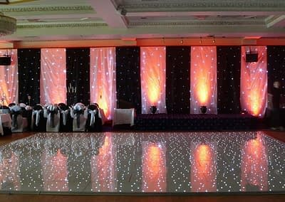 white led dance floor hire Kent