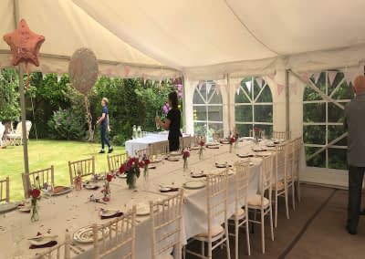 Limewash Chiavari chair hire Kent