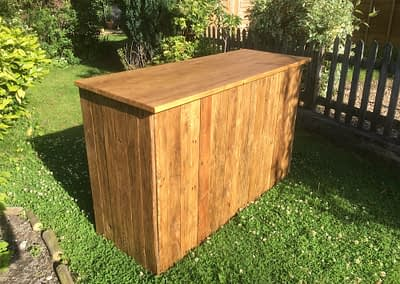 rustic bar hire