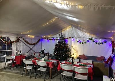 Christmas Marquee Hire London
