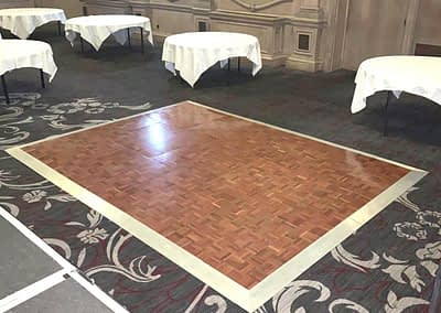 cheap dance floor hire