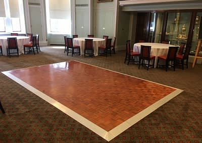 parquet dance floor hire sussex