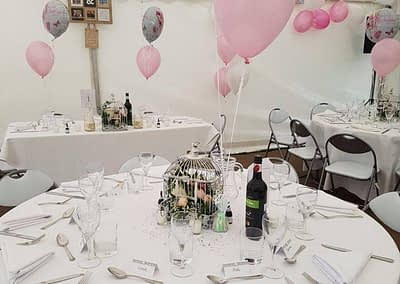 wedding table hire Surrey