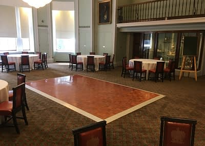 parquet dance floor hire Surrey
