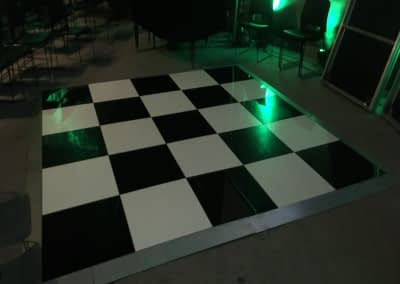 chequered dance floor hire Kent