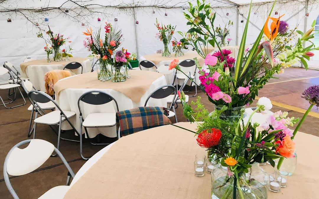 Having a Marquee Wedding. Your Day – Your Way