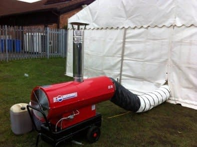Surrey Heater Hire London