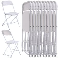 rent white folding chair hire Sussex
