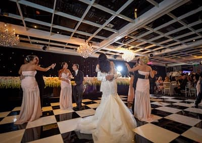chequered Dance floor Hire London