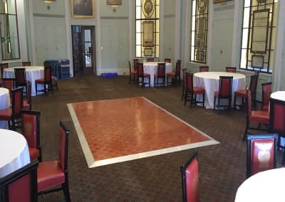 parquet dance floor hire croydon