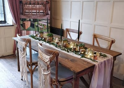 dining table hire