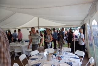 fundraising events marquee