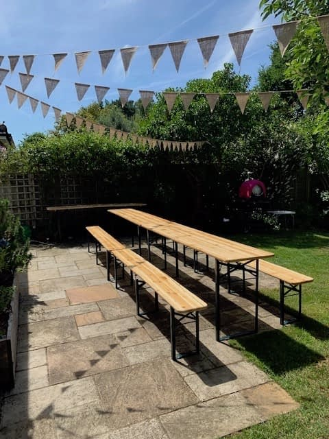 beer table hire Kent