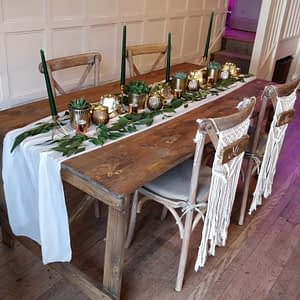 vintage table hire