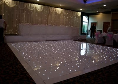 white led dance floor hire Hampshire