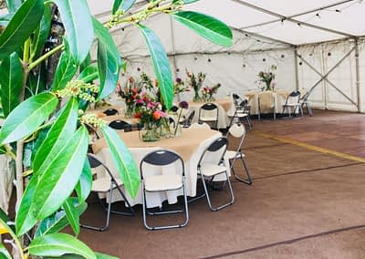Rustic Marquee Hire London
